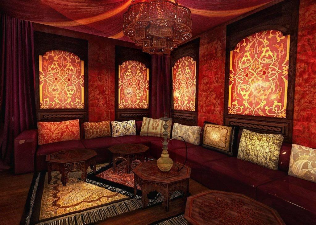 Дизайн интерьера: арабский стиль (55 фото) | дизайн и интерьер