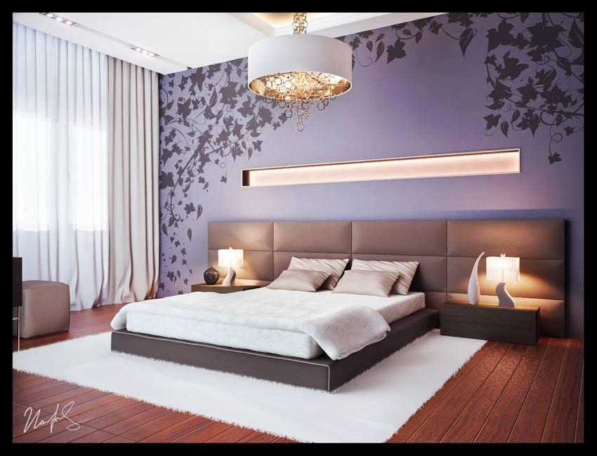 Спальня в стиле барокко - 75 фото исключительно богатой обстановки