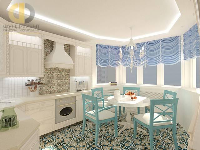 Варианты дизайна и планировок кухни в эркере — особенности оформления окна