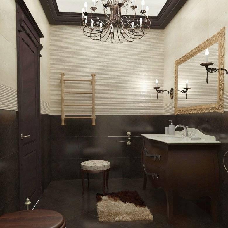 Бежевая плитка для ванной комнаты: особенности и варианты дизайна