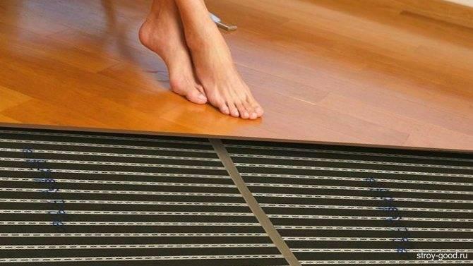 Насколько нужен теплый пол под ламинат? мнение эксперта