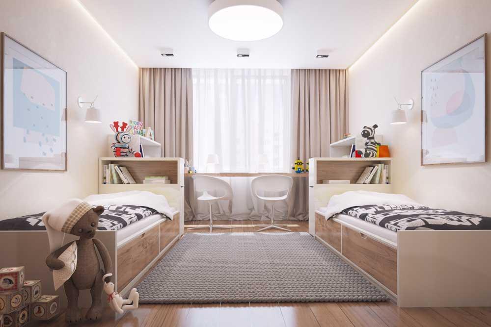 Детская 9 кв. м.: зонирование, варианты отделки и особенности оформления (110 фото)варианты планировки и дизайна