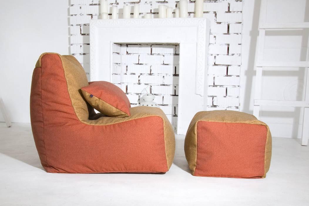 Кресла-пуфы — разновидности и варианты дизайна