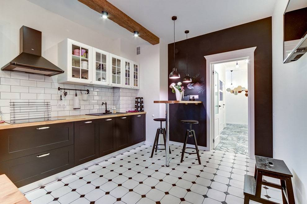 Напольные покрытия для кухни и коридора: как выбрать, виды, какое лучше, современные покрытия, видео-инструкция, фото
