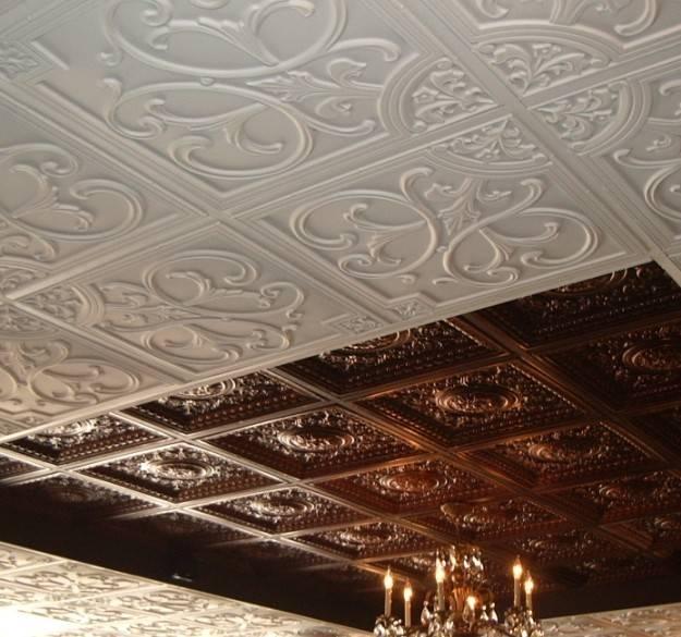 Драпировка потолка тканью своими руками: необычный декор