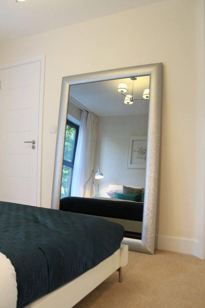Зеркало в спальне: как избежать беды? | строй легко