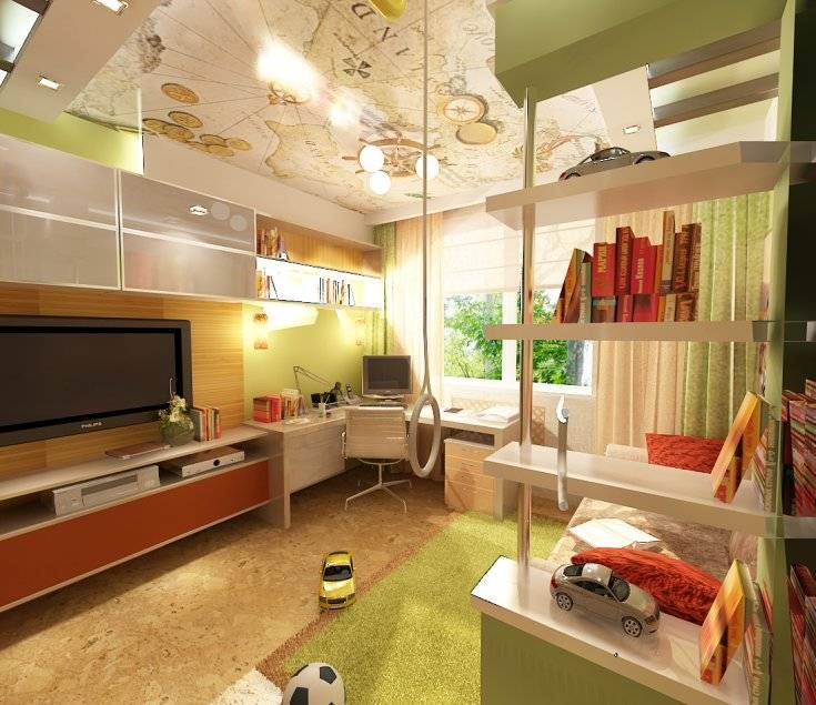 Дизайн детской 12 кв. м. - 85 фото рекомендаций современных проектов