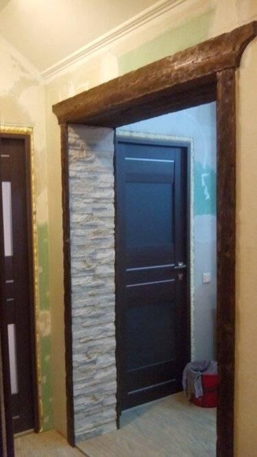 Самые популярные варианты отделки откосов входной двери изнутри