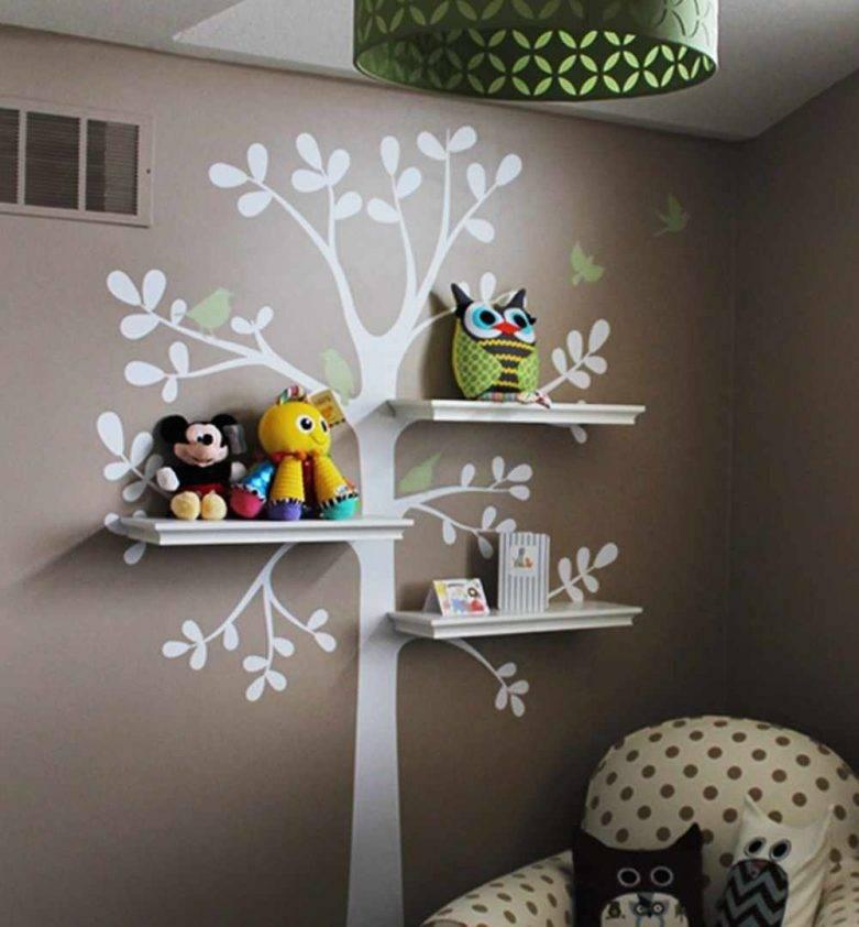 Оформление и декор стен в квартире из подручных материалов: декоративные украшения