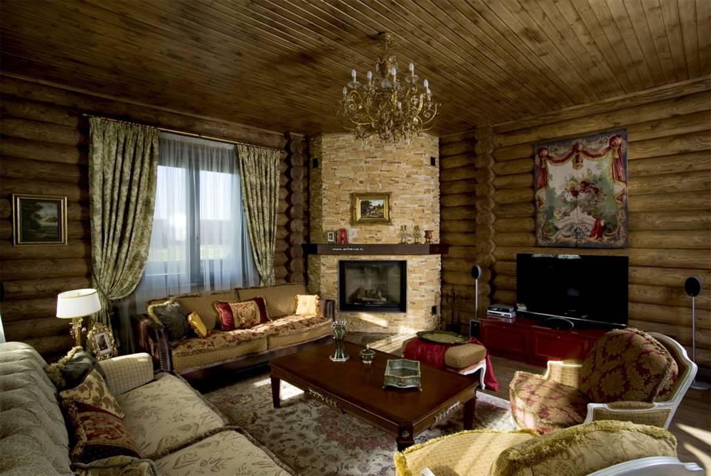 Виды деревянной отделки декора стен внутри дома и квартиры