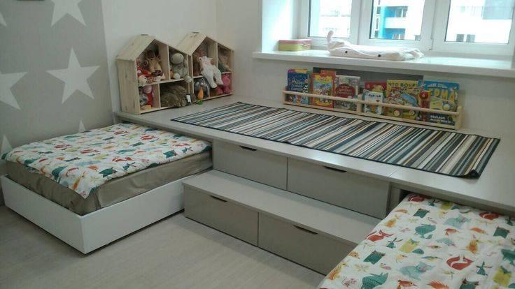 Кровать-подиум - как обеспечить интересное решение дизайна квартиры