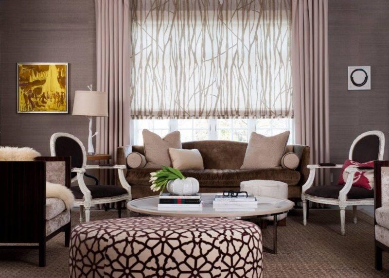 Шторы для гостиной в современном стиле: фото, дизайн 2021 года, новинки, модные тренды