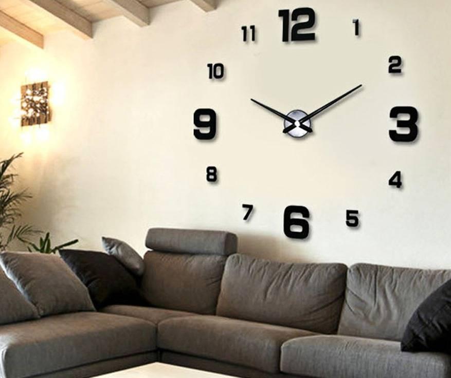 Настенные часы своими руками - 50 фото идей идеального оформления в интерьере