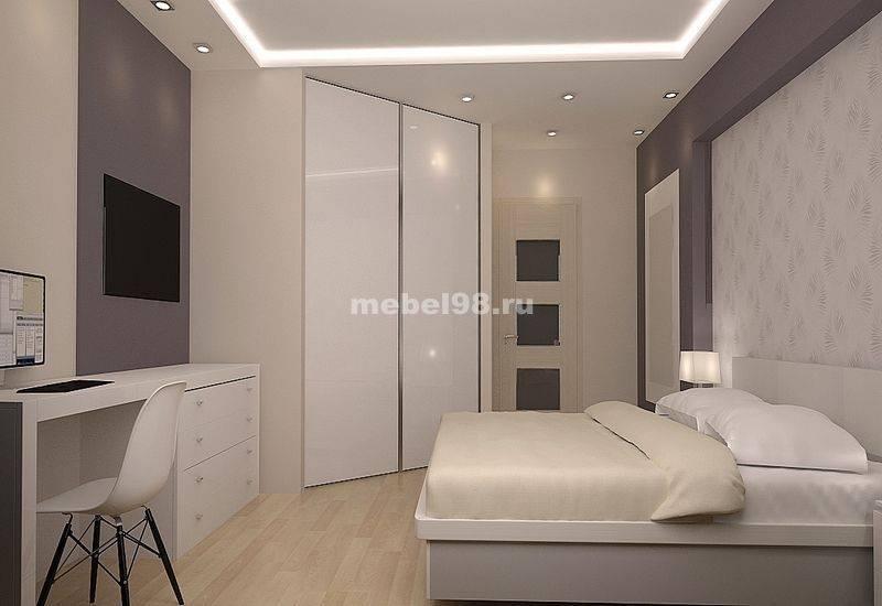 Квадратная спальня - 120 фото лучших идей планировки и современного дизайна