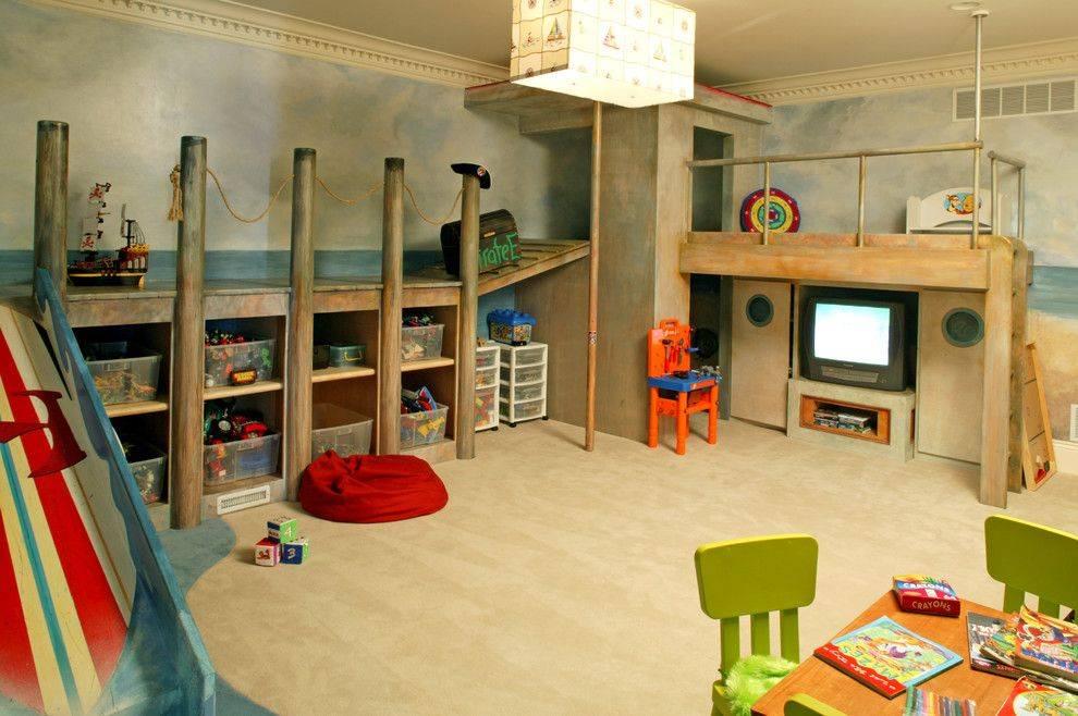Советы по обустройству и оформлению интерьера детской игровой комнаты