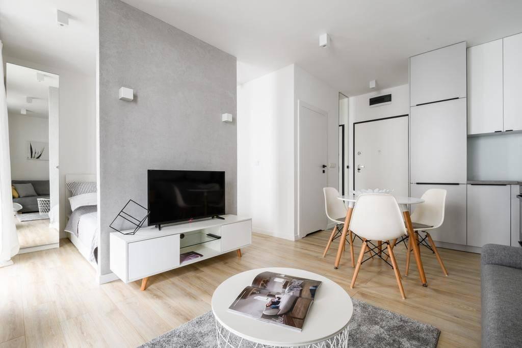 Дизайн квартиры-студии 30 квадратных метров (89 фото): планировка интерьера кухни с гостиной