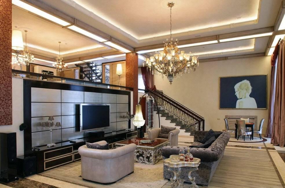 Гостиная в современном стиле. фото идеи дизайна современной гостиной