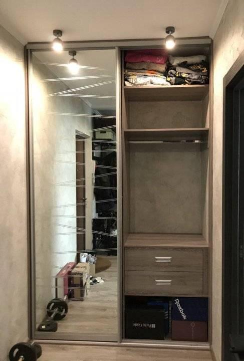 Внутреннее наполнение шкафа-купе в прихожую: идеи и фото с размерами