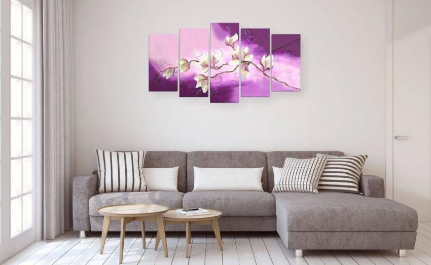 Картины в гостиную (65 фото): как повесить на стену, интерьер зала с модульными изображениями в современном и классическом стиле
