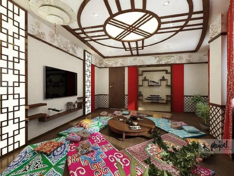 Спальня в восточном стиле: тонкости оформления (55 фото)