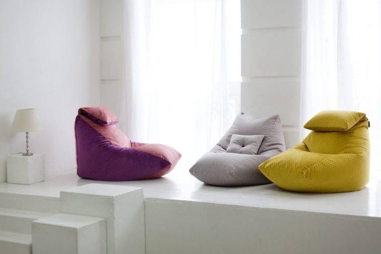 5 идей применения пуфика в интерьере квартиры