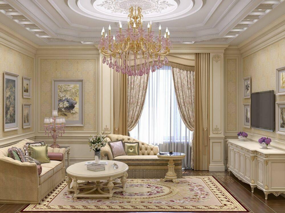 Классические гостиные - актуальные идеи дизайна современных гостиных в классическом стиле (видео + 175 фото)