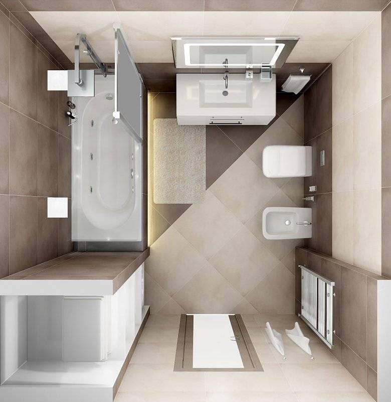 Ванная 3 кв. м. (100 фото): идеи оформления и особенности расположения основных элементовварианты планировки и дизайна