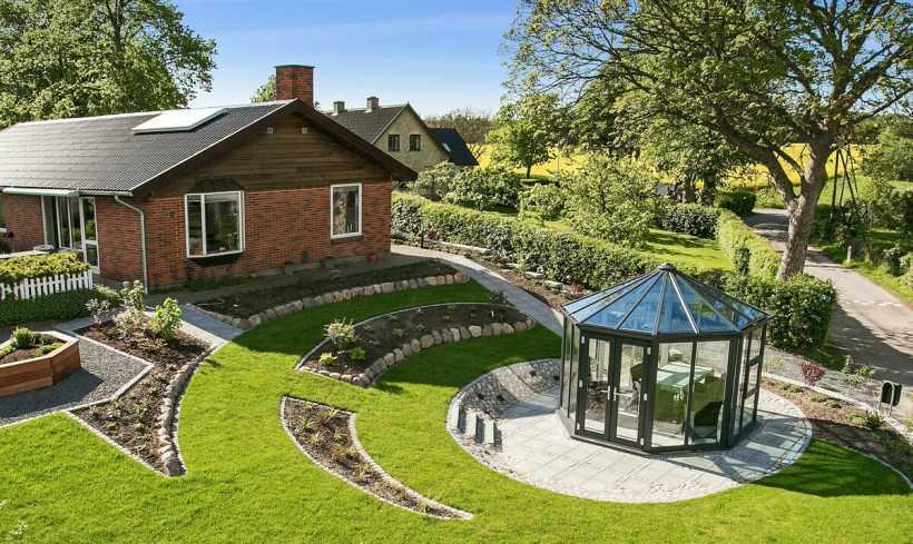 Ландшафтный дизайн участка частного дома с нуля!