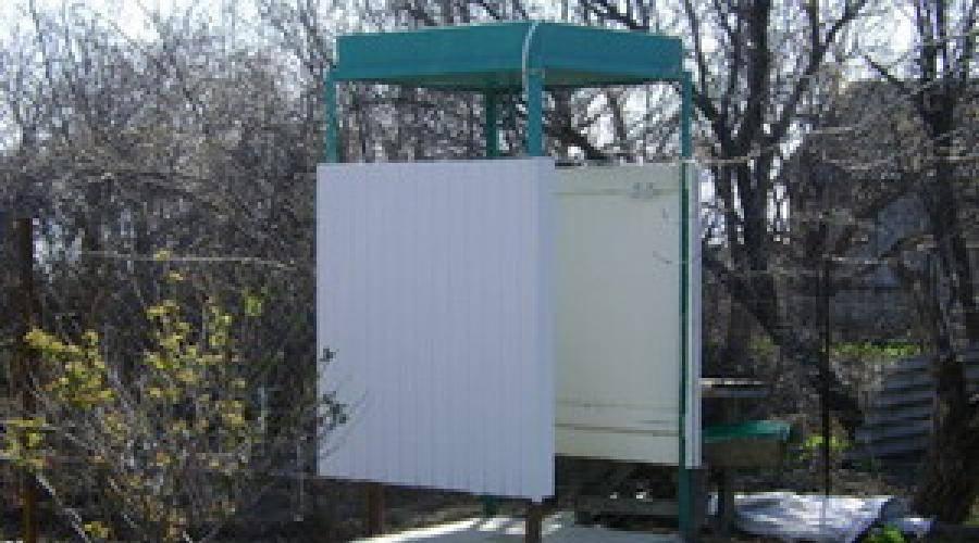 Летний душ своими руками для дачи с подогревом - фото, чертеж, размеры