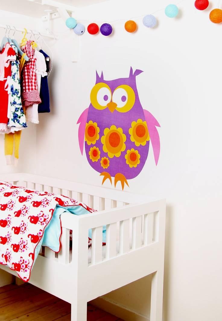 Оформление стен в детской: 100+ лучших идей на фото