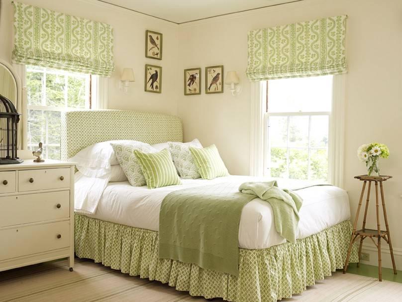 Спальня в зеленых тонах: варианты дизайна интерьера с фото, возможные сочетания цветов, мятный, фисташковый, салатовый и другие