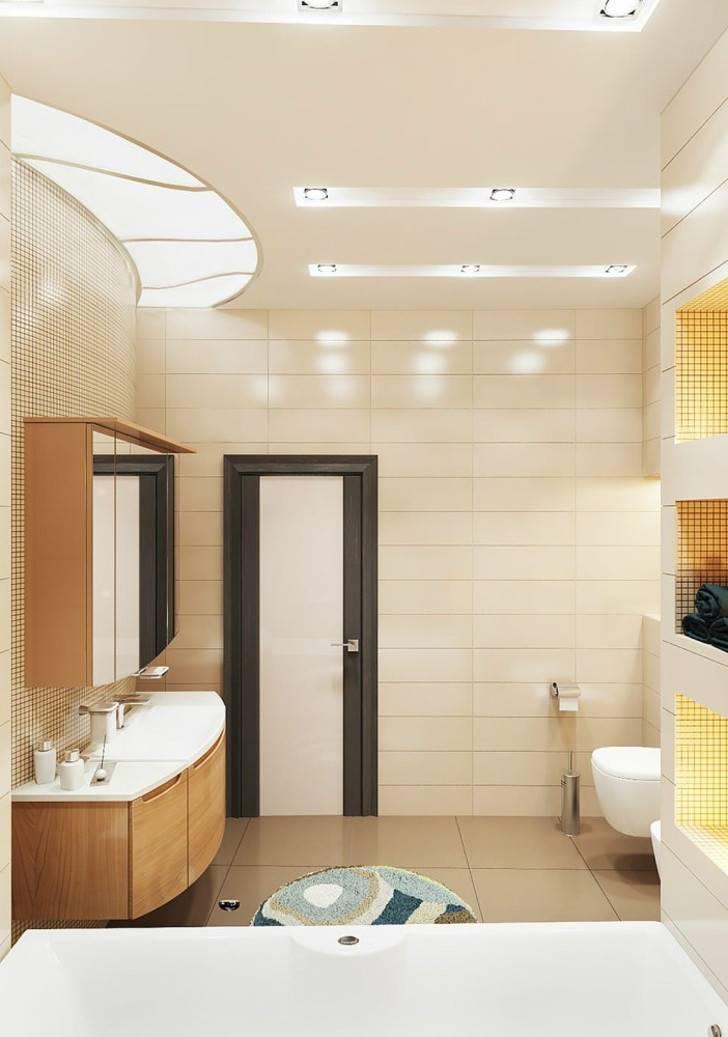 Коричневая ванная комната – благородство и уют