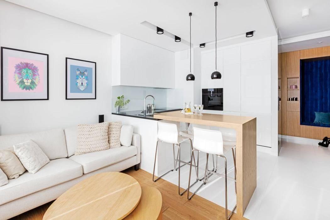 Правильный дизайн для маленькой квартиры-студии: практичные советы