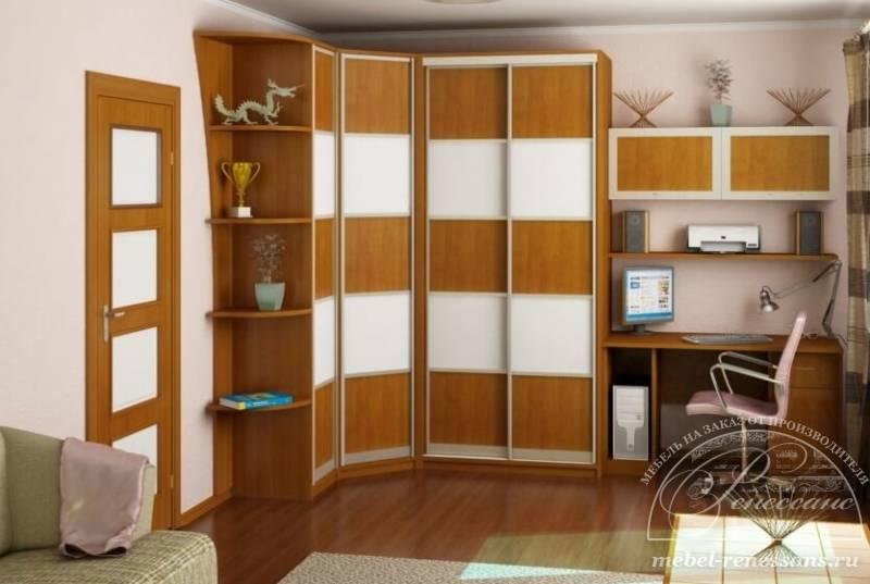 Угловой шкаф в детскую комнату — виды конструкций и правила выбора