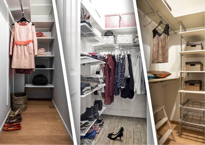 Кладовка в маленькой квартире: дизайн и 75 фото готовых решений