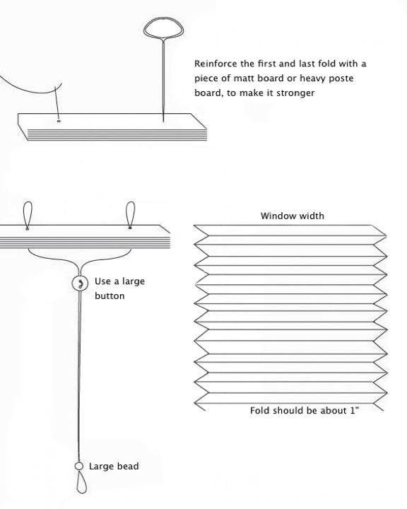 Как сделать бумажные жалюзи своими руками из обоев, пошаговый видео мастер класс