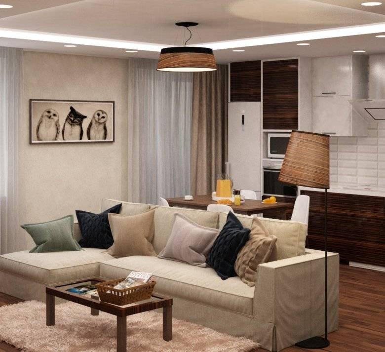 Идеи по дизайну зала площадью 20 кв. метров