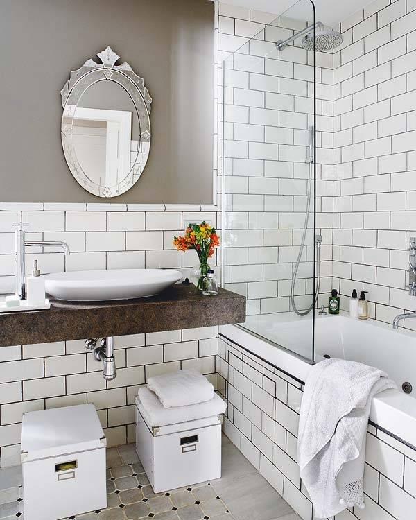Черно-белая ванная: оригинальные сочетания и лучшие примеры дизайна, фото