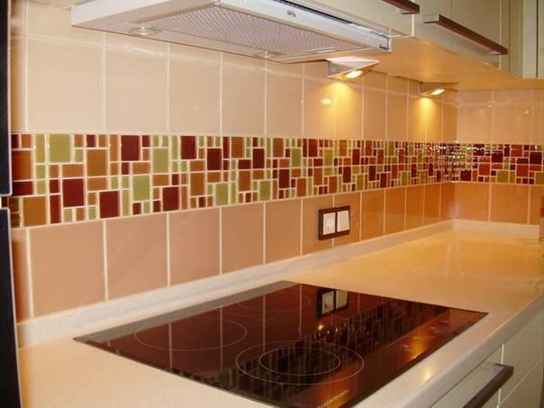 Фартук из плитки для кухни: виды, особенности выбора и лучшие идеи (35 фото)