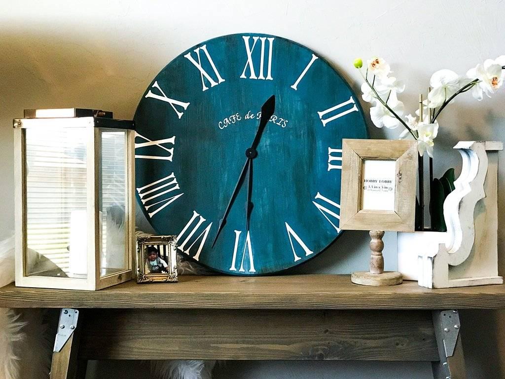 Декорирование настенных часов своими руками: 125 фото-идей и примеров интерьерного оформления из подручных средств