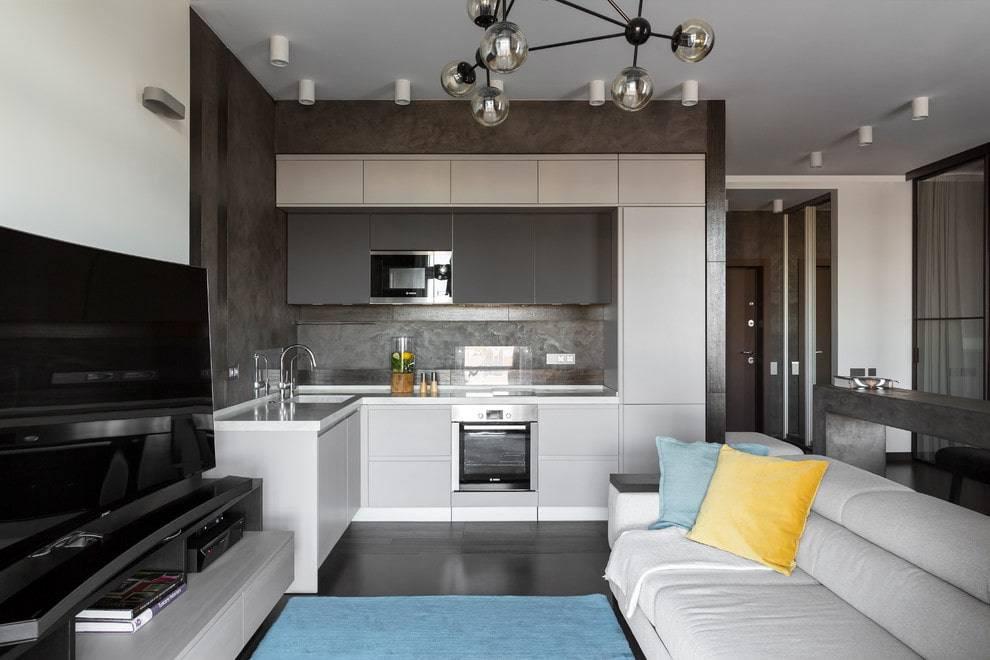 Кухня гостиная 18 кв м дизайн фото идеи - зонирование кухни и гостиной оригинальные решения, барная стойка между кухней и гостиной.кухня — вкус комфорта