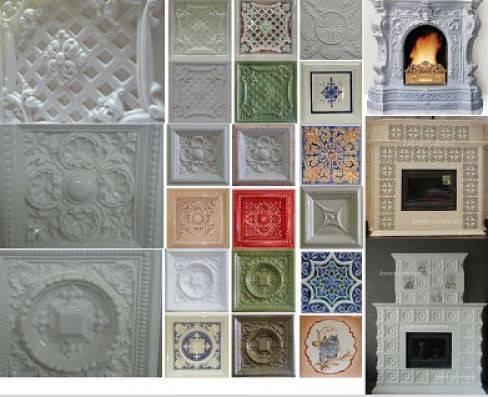 Облицовка печи керамической плиткой своими руками: чем обложить печку, фото отделки и укладки, как положить камин, наклеить кафель