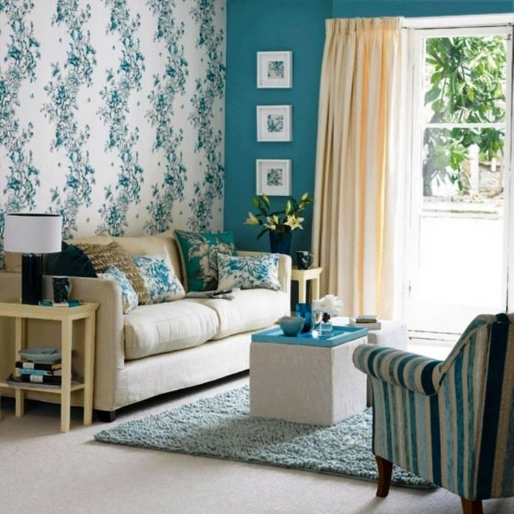 Цвет в интерьере гостиной (+60 фото): модные оттенки и цветовые сочетания