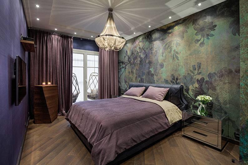 Натяжной потолок в спальне (90 фото) - красивые идеи, дизайн потолка
