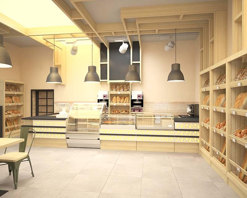Дизайн-проекты интерьера кондитерской - «нежилые помещения» » «дизайна интерьера»