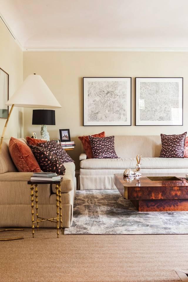 Теплые цвета в интерьере комнат: выбор оттенков и комбинация