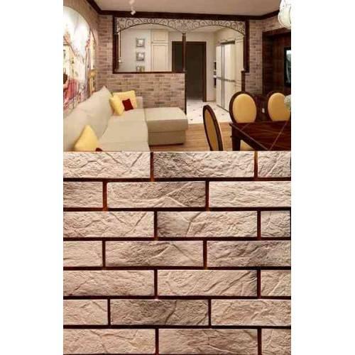 80 фото с лучшими примерами отделки стен декоративным камнем и обоями в прихожей и на кухне