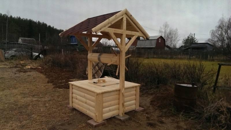 Шикарный домик для колодца своими руками - всё просто на vodatyt.ru