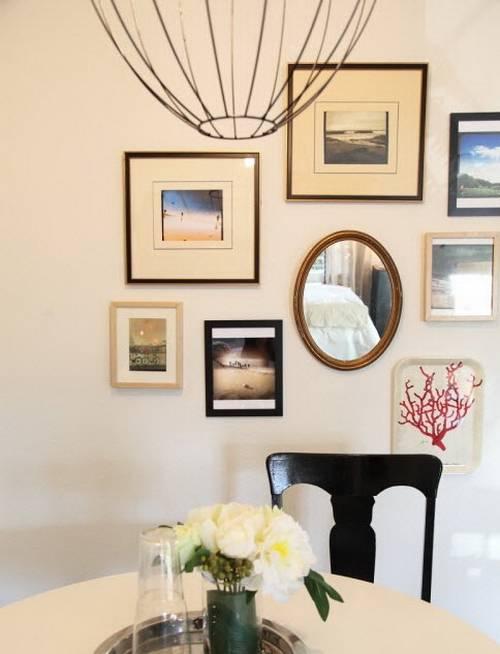 Как повесить фотографии на стену (170+фото): красиво/оригинально