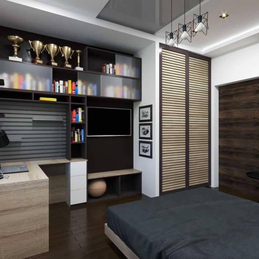 Мужская спальня — 70 фото идей как оформить дизайн со вкусом